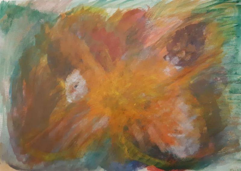 02.Papillon (D : 30cm x 42cm    Prix=100 €)