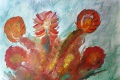 03.Delices de fleurs (D : 24cm x 32cm    Prix=80 €)