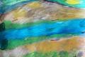20.Grande rivière  (D : 30cm x 42cm    Prix=100 €)