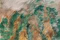 05.Brouillard sur les sapins (D : 30cm x 42cm    Prix=100 €)