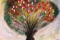 09.Arbre fruitier (D : 30cm x 42cm    Prix=100 €)
