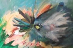 05.Oiseau change (D : 30cm x 42cm    Prix=100 €)