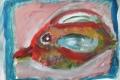 06.Oiseau poisson (D : 30cm x 42cm    Prix=100 €)