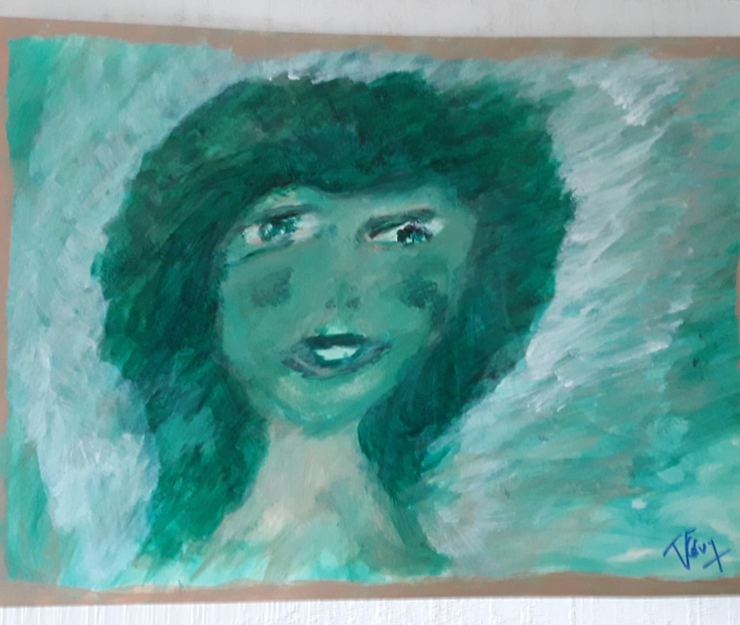 27.Expression (D : 30cm x 42cm    Prix=100 €)